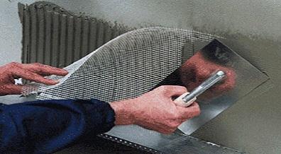 Армированная сетка для утепления дома