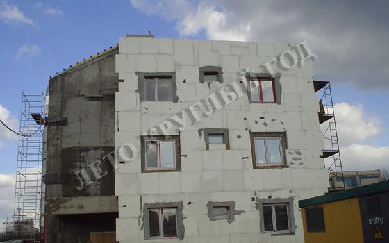 Ремонт фасада дома
