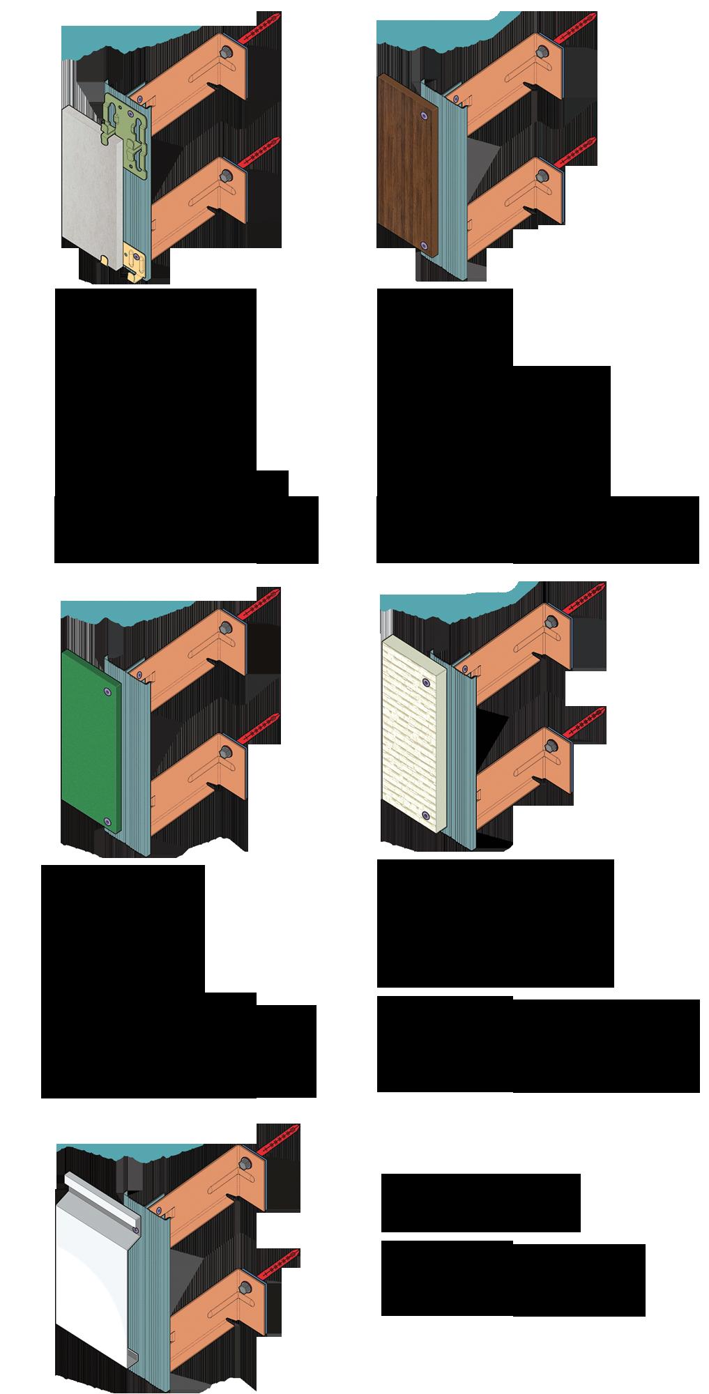 Фасадная система симплекс simplex